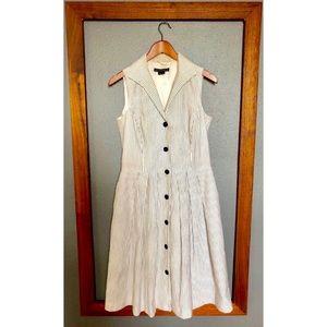 Lafayette 148 Button Down Shirt Dress